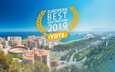Malaga is nominated for 20 Best European destinations 2019! Voting takes place now!